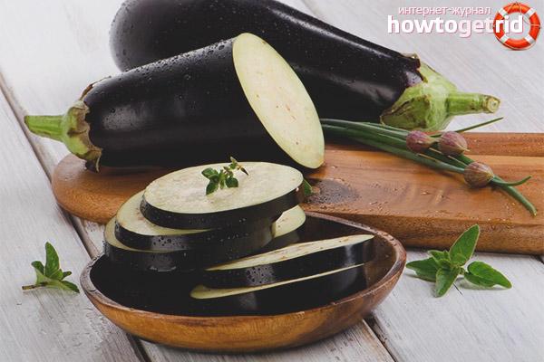 Варианты употребления баклажанов в сыром виде