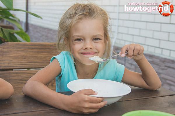 Манная каша для детей — польза и вред