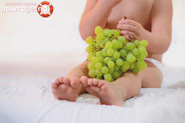 С какого возраста можно давать ребенку виноград