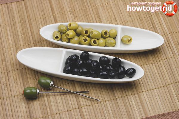 Состав и польза оливок и маслин