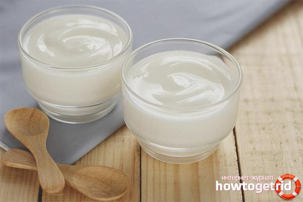 Вред йогурта