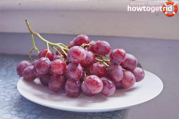 Кому не стоит худеть с помощью винограда