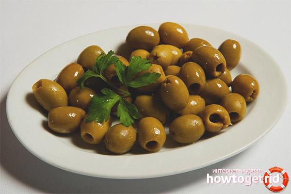 Консервированные оливки для мужчин