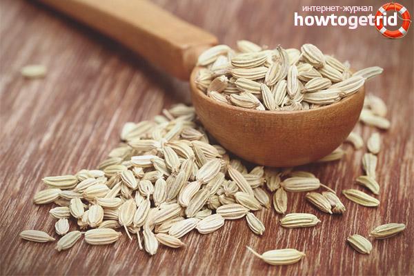 Польза семян фенхеля при похудении