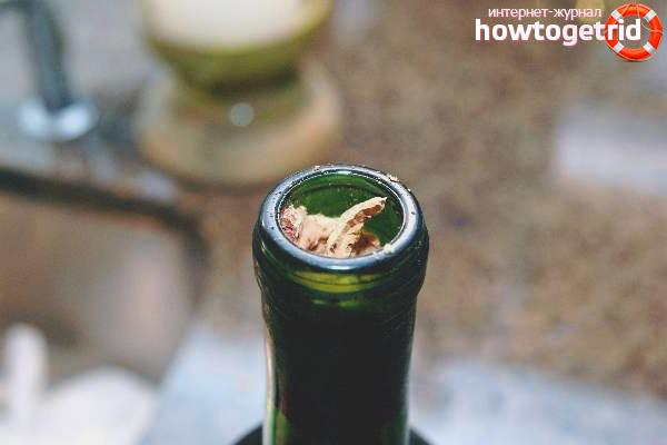 Как открыть шампанское, если сломалась пробка