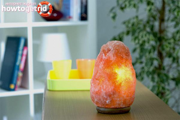 Критерии выбора солевой лампы