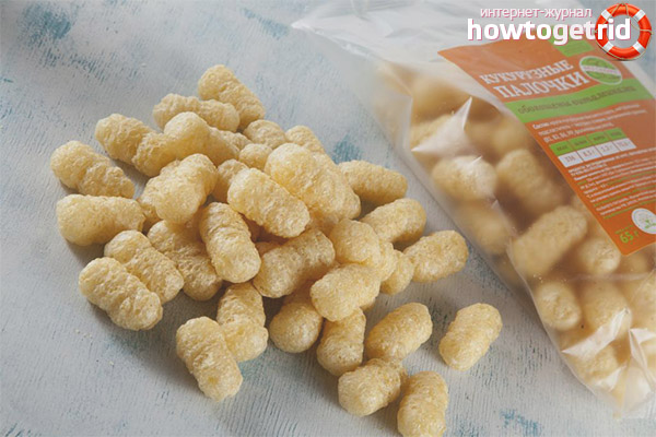 Можно ли детям кукурузные палочки