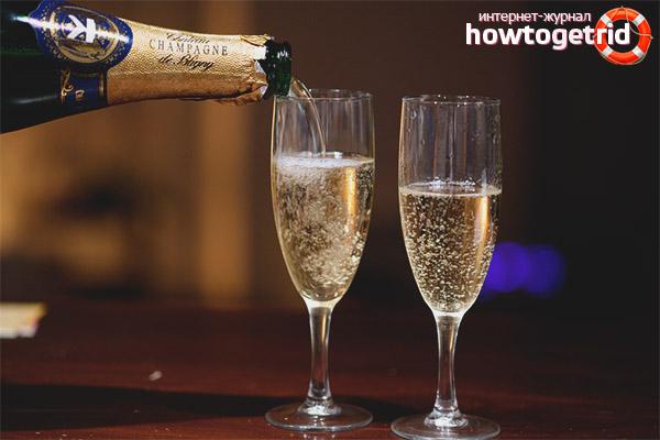 Определение качества шампанского