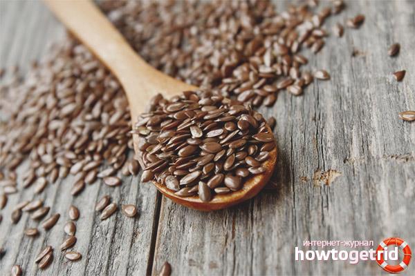 Показания к применению льняного семени