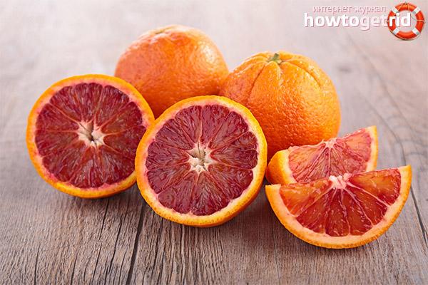 Чем полезны красные апельсины