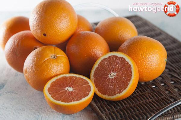 Вред и противопоказания красных апельсинов