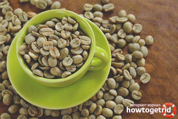 Способы применения зеленого кофе