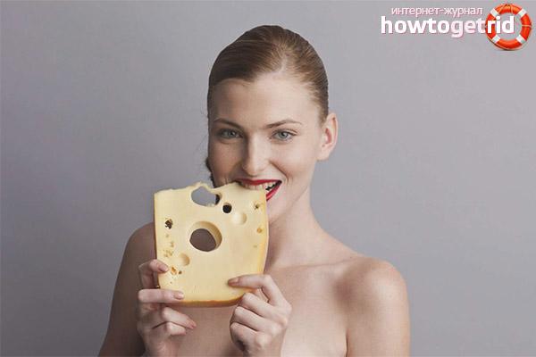 Чем полезен сыр для женщин