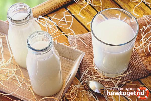 Молоко не всегда полезно