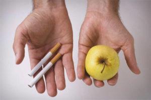 Продукты помогающие бросить курить