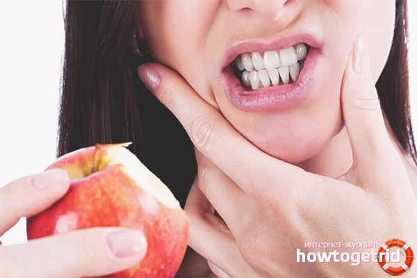 Питание при зубной боли