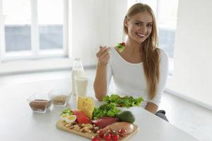 Полезные продукты питания для женского здоровья