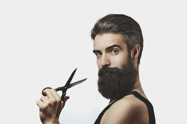 Как мужчине подстричь себя ножницами