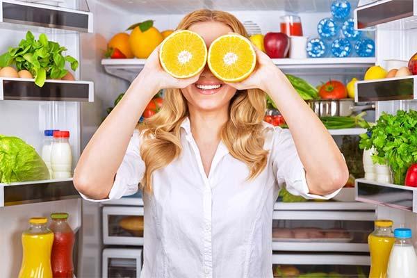 Продукты полезные для глаз