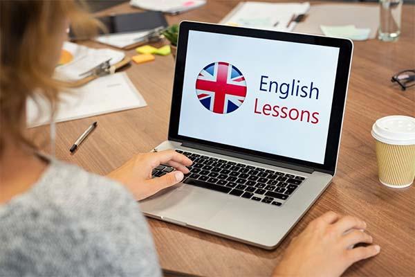 Учить online английский
