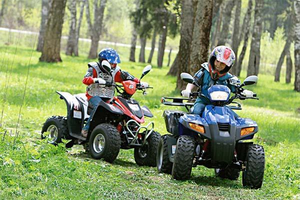 Чем квадроциклы для детей отличаются от моделей для взрослых