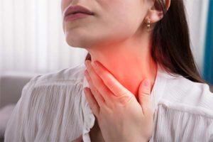 Как избавиться от першения в горле