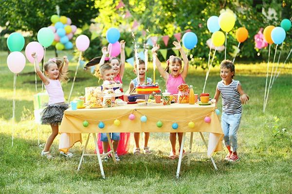 Список гостей на день рождения ребенка