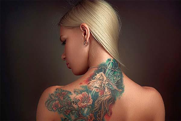 Символичные виды тату