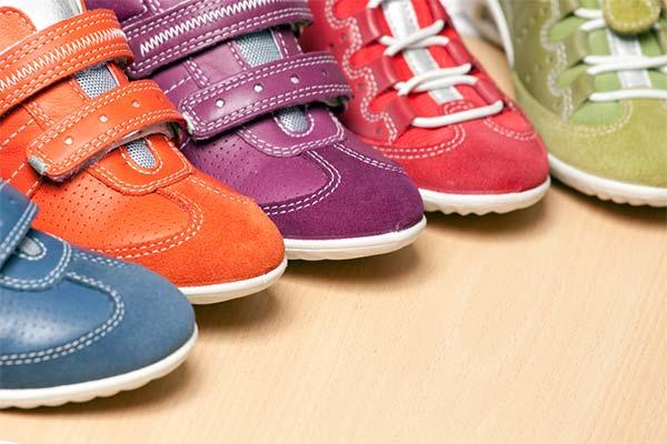Модели детской обуви