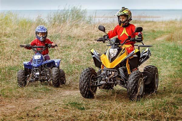 Скоростной режим детских квадроциклов