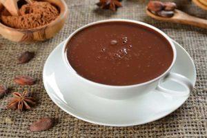 История горячего шоколада