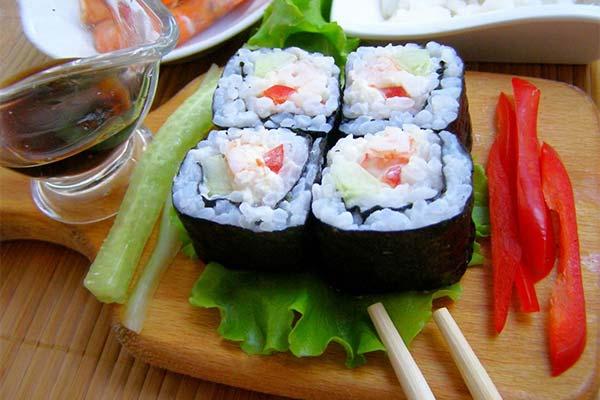 Признаки качественных роллов и суши