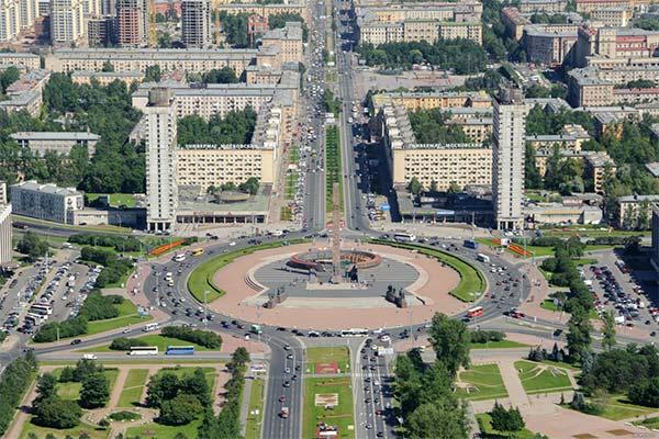 Новостройки Московского района Санкт-Петербурга